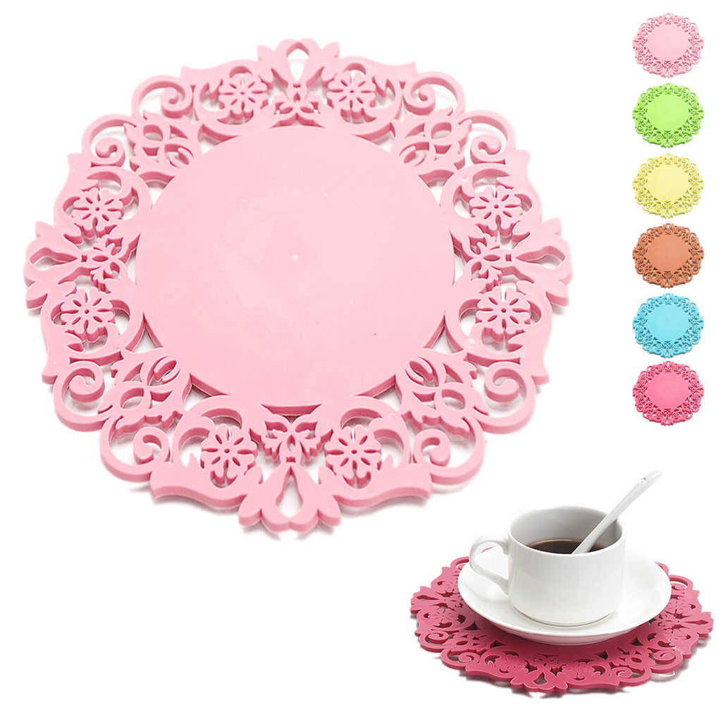 Cup Bowl Mat Table Non-Slip Potholder Tableware Pad Hot