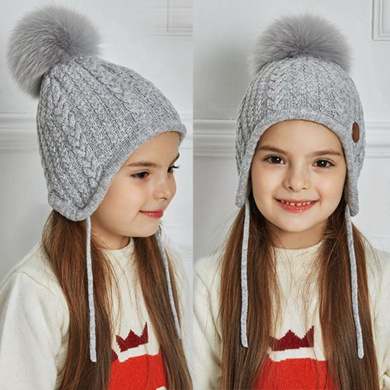 a484c78e5 Buy CHINATERA Lovely Baby Winter Ear Protection Hats Warm Knitted ...