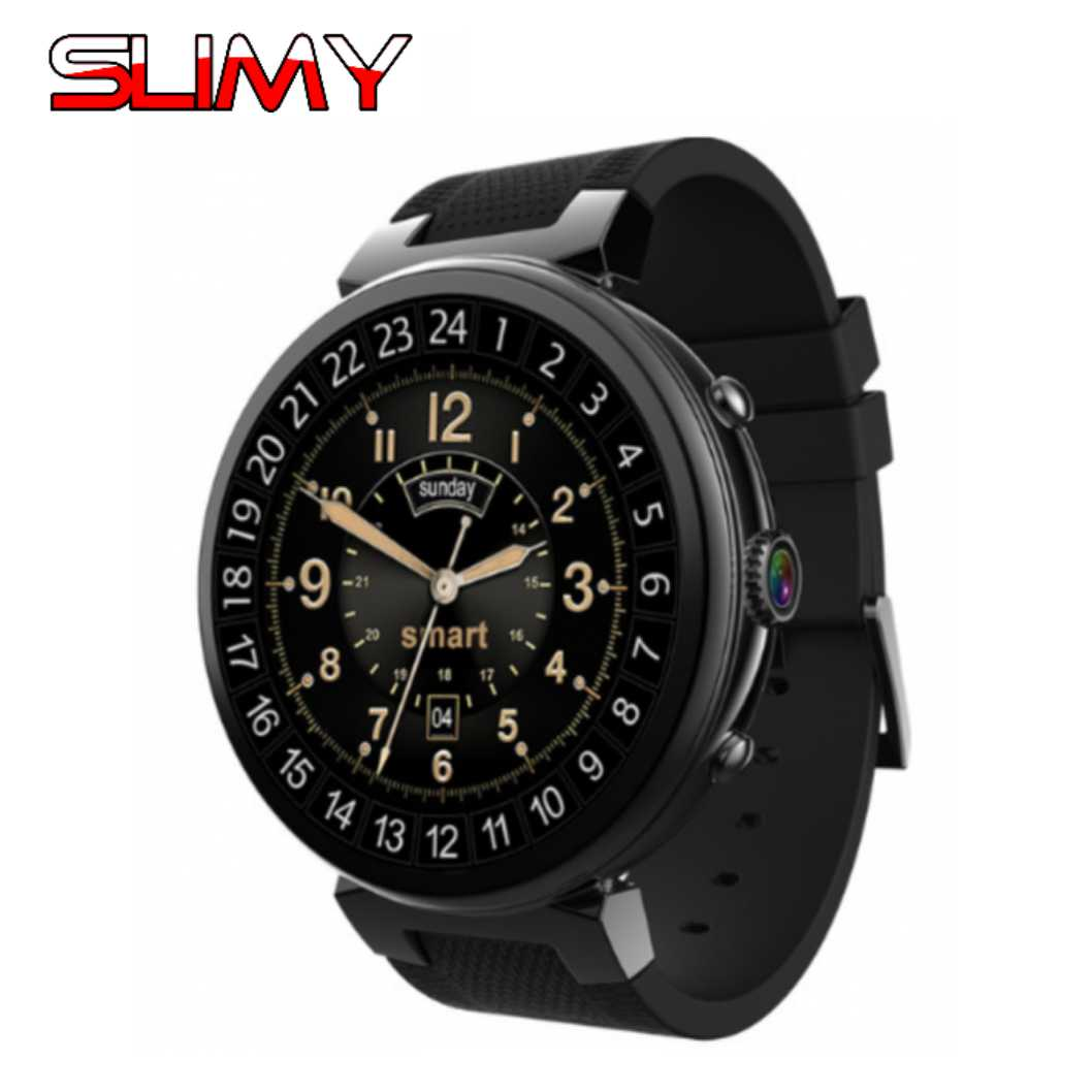 Slimy Android 5.1 OS Smart Watch I6 Electronics Gift Android 1.39 Inch MTK6580 Smartwatch Phone Support 3G Wifi Nano SIM WCDMA 2016 update gv08 smart watch 15 inch 2mp