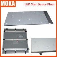 14 14 Feet LED Dance Floors Wedding Dance Floors Sparkling White Dancefloor White Flashing Dance Floor