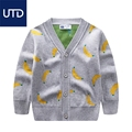 children cotton sweater cardigan Korean boy V cardigan in the spring of 2017 small children all-match new sweater