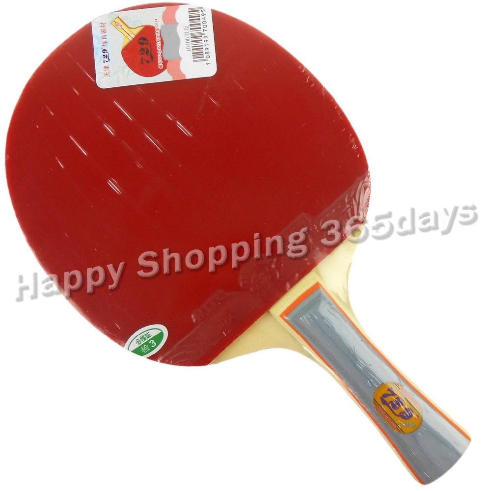f78f29f45 RITC 729 1040   pips-in ténis de mesa pingpong raquete + um caso morcego  shakehandLong Alça FL
