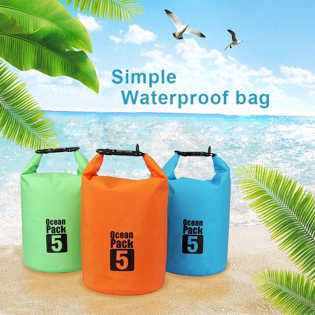 ПВХ 2L 5L 10L 20L Открытый Дайвинг компрессионная сумка для хранения водостойкая сумка для мужчин женщин плавание рафтинг каяк сухая сумка