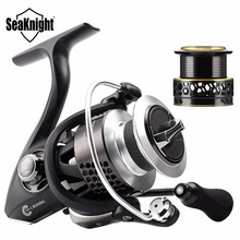 SeaKnight Spinning Fishing Reel WR II 2000H 3000H 4000H 6.2:1 High Speed 10+1BB Screw-in Handle Spinning Wheel Fishing Tackles