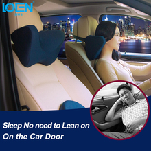 U shaped Car Pillow Neck Pillow Auto Support Memory Foam Headrest Universal For Travel  Office Home Car for toyota bmw Style loen u shape memory cotton car neck pillow headrest memory foam fabric car seat neck support pillow for car travel office home%2