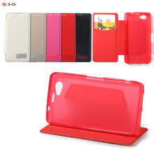 For Sony Xperia Z1 MINI Compact Z1F D5503 Z1 L39H Case S-CH Stand PU Leather Feature