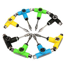 New Skateboard Tools 1pc Roller Skate Adjusting Tool L Wrench Longboard Fish Board Semi-automatic