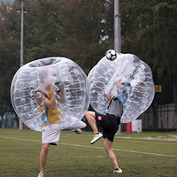 Free Shipping Bubble Soccer Ball Dia 5 ft (1.5m) Human Hamster Ball, Thick 8mm TPU Transparent Inflatable Bumper Ball Zorb Ball