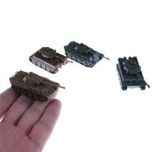 1 шт./компл. 4D песок стол пластик Тигр танки Второй мировой войны Германия пантера Танк 1:144 весы готовой модели игрушки