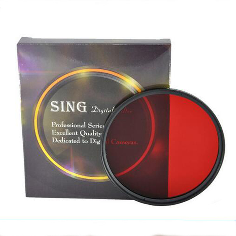 Full Neutral Density Color Filter Red Yellow Orange Purple 49mm 52mm 55mm 58mm 62mm 67mm 72mm 77mm 82mm