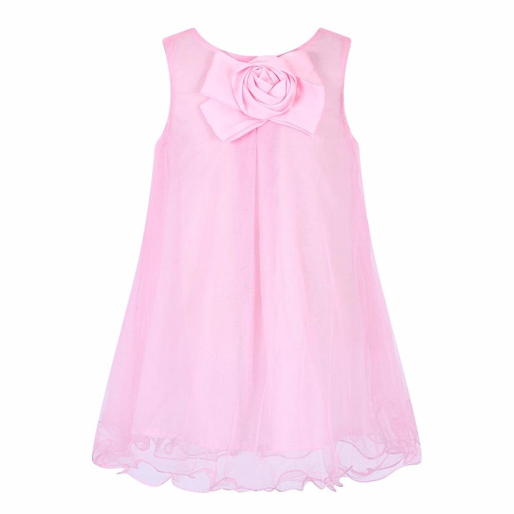 c48066a6541 Kids Dress Girls Party Dresses Wedding 2017 Summer Baby Girls Costume Elsa  Dress Flower Reine Fes Neiges Mesh Princess Dress