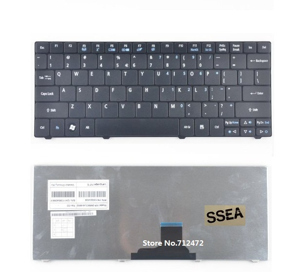 SSEA New Laptop US Keyboard For Acer Aspire 1430 1430Z 1551 1830 1830T TravelMate 8172 8172T 8172Z One 721 AO721 AO721 722 AO722