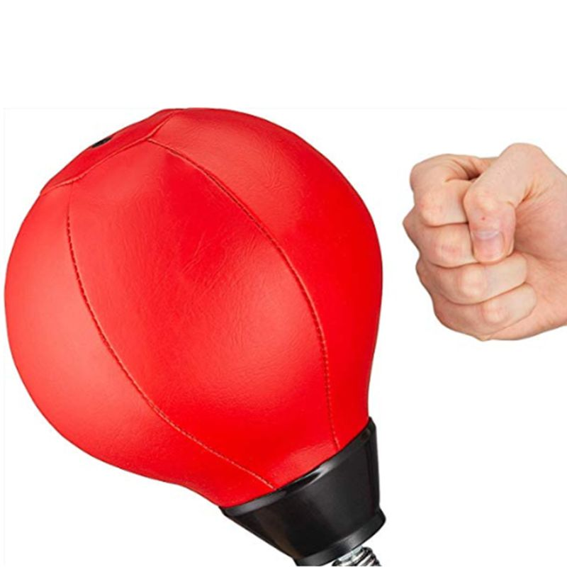 1 Set Stress Buster Desktop Punching Ball Reflex Improving Speed Reactions Hand Eye Coordination Boxing Sports Training Fitness in Punching Balls Speed Balls from Sports Entertainment