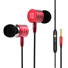 Langsdom i-7a Metal In-Ear Earphones Bass Headset Audifonos Music Earphone volume control Fone De Ouvido HIFI Super Bass