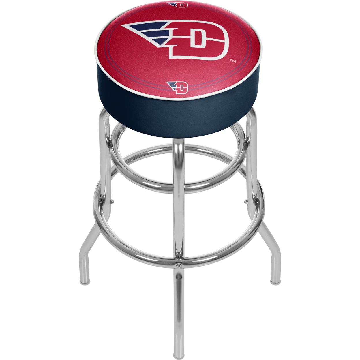 University of Dayton Padded Swivel Bar Stool 30 Inches High