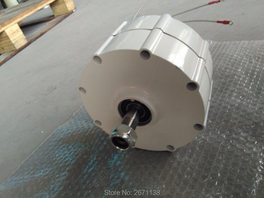 Alternateur à aimant Permanent AC12V 24 V 48V500W à basse vitesse pour générateur d'éolienne à bas régime PMG