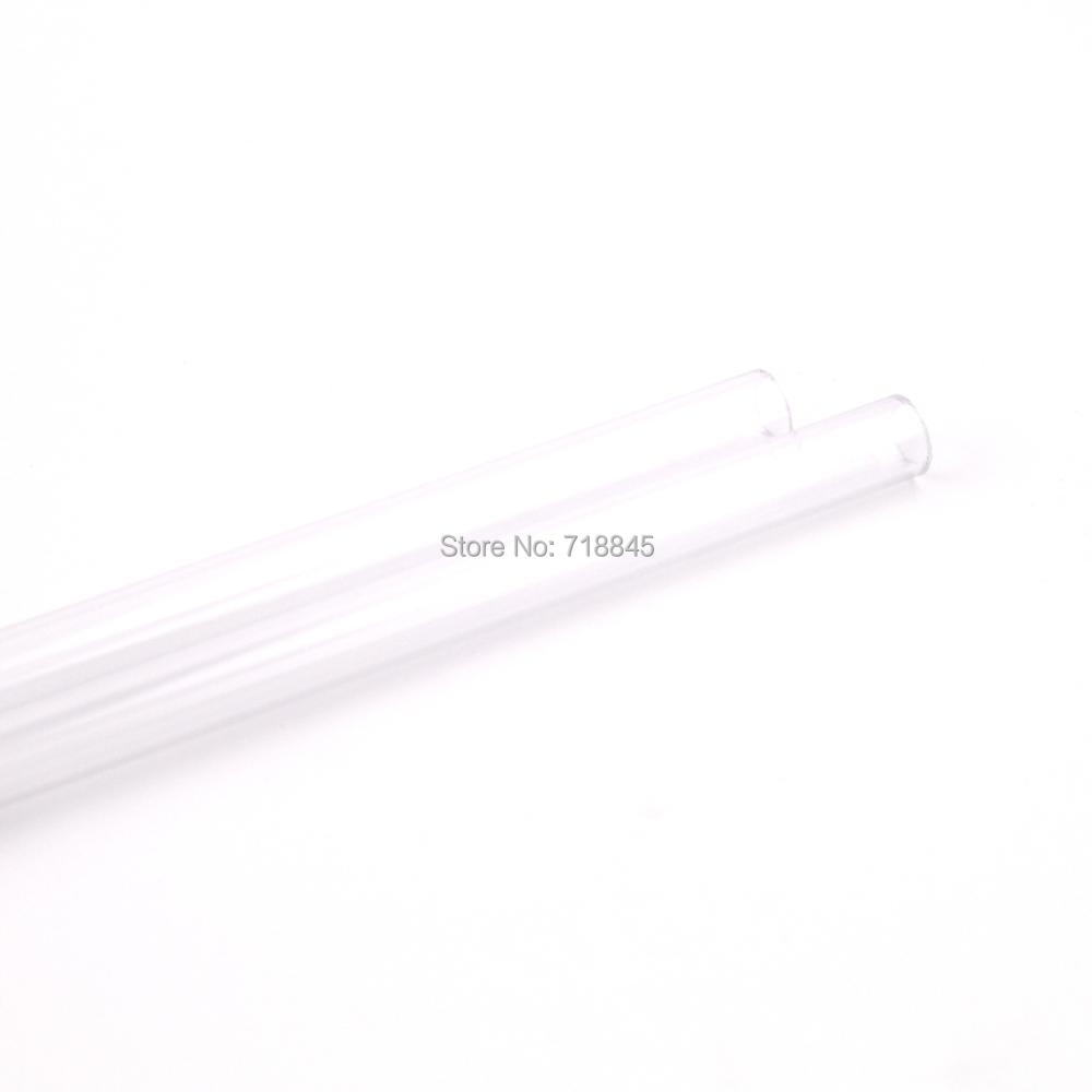 Купить с кэшбэком GKD 14mm transparent acrylic tube 500mm length 50cm long 2 pcs/lot ID10mm OD14MM