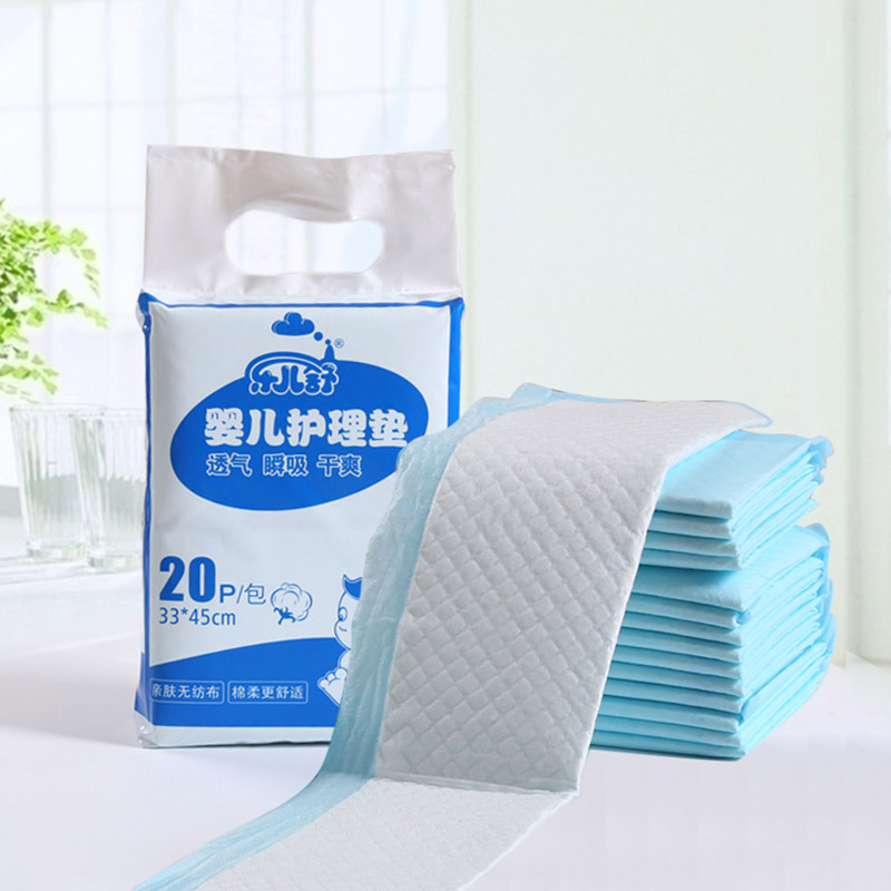 Baby Disposable Diaper Changing Mat Portable Foldable Travel Changing Pads Cover Infant Newborn Floor Mat Urine Mat 20pcs/15pcs