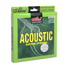 "1 set Acoustic Folk Guitar Strings 6 strings fit 36"" - 42"" guitar - Alice A408"