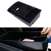 DWCX Car Armrest Storage box Compartment Coin Holder Tray for BMW F26 X3 X4 2014 2015