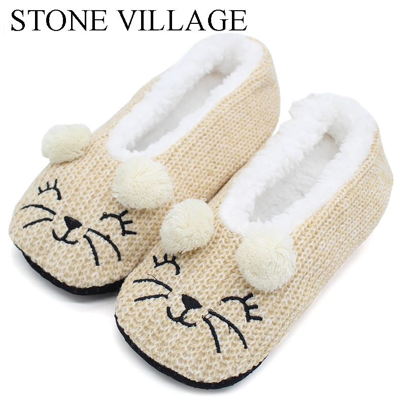 Winter Wool Cute Cartoon Indoor Shoes Woman Home Slippers Women Soft Plush Slippers Christmas Gift Women Slipper Shoes One Size dc shoes ремень dc shoes chinook washed indigo fw17 one size