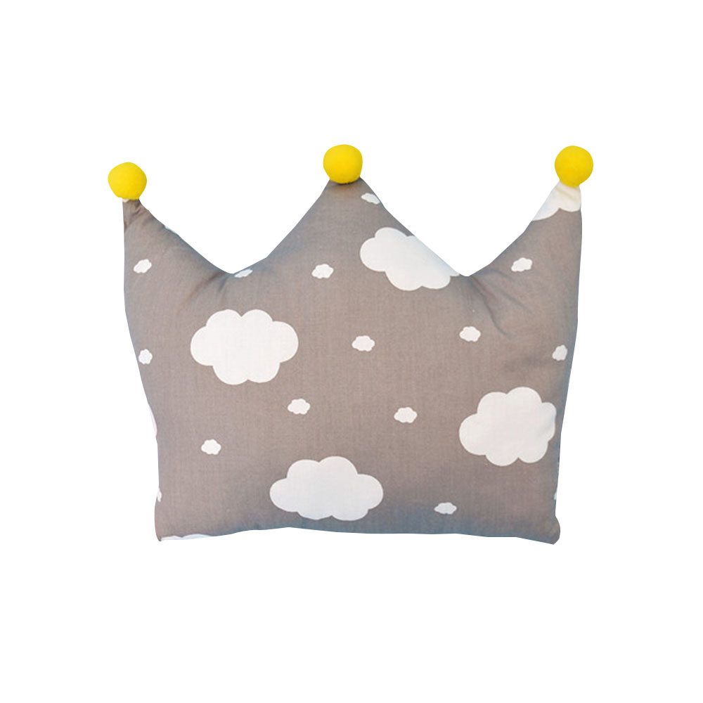 7 Types Cartoon Baby Newborn Infant Pillows Crown Shape Head Protect Hollow Bedding Pillow Pad Kids Head Support Prevent