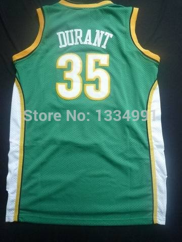66a420864fb sonics retro jersey sonics retro jersey; sonics retro jersey Supersonics  retro basketball jersey Seattle Kevin Durant ...