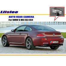 Liislee для BMW 6 M6 E63 E64-заднего вида Камера/Резервное копирование парк Камера/HD CCD RCA NTST PAL/поворотника Камера