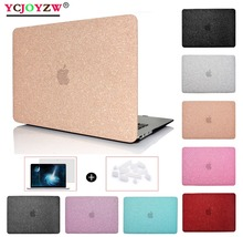 YCJOYZW-Shine Laptop Case For MacBook Air Pro Retina 11.6 12 13.3 15.4`New 13 15 inch with Touch Bar + Dust plug gift