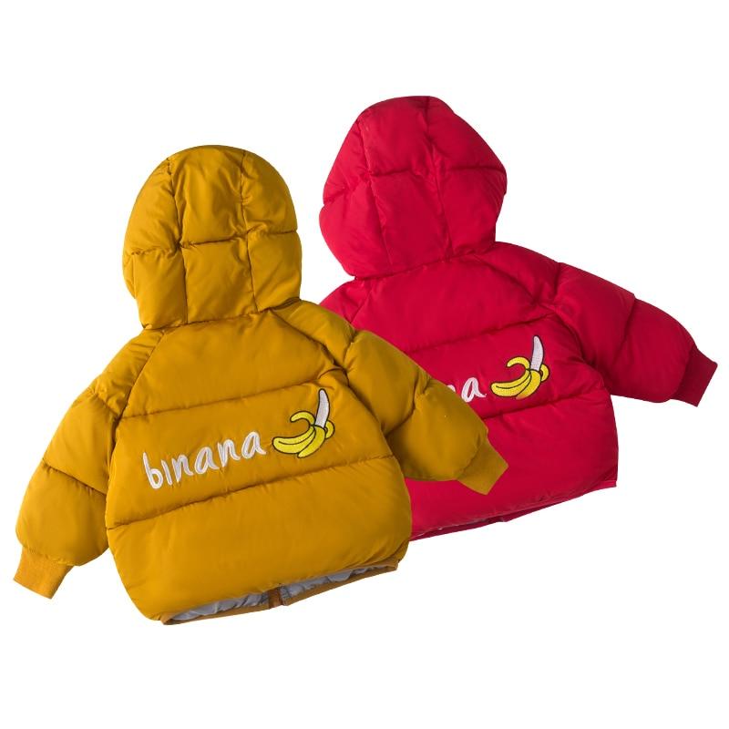 2019 Neue Baby Jungen Mädchen Winter Mode Mäntel Kinder Warme Verdicken Hoodie Baumwolle Kleidung Kinder Oberbekleidung Winter Jacken Mäntel Senility VerzöGern