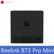 Original TV BOX Beelink BT3 Pro Mini PC WiFi BT 4,0 Windows 10 Intel Atom X5-Z8350 64Bit 4G 32G 4G 64G PK Beelink AP42