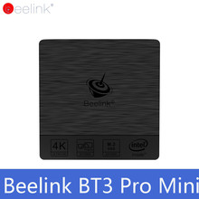 Original TV BOX Beelink BT3 Pro Mini PC WiFi BT 4.0 Windows 10 Intel Atom X5-Z8350 64Bit 4G 32G 4G 64G PK Beelink AP42