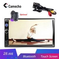 Camecho Autoradio 2 Din Car Radio 7 HD MP5 Multimedia Player Bluetooth Car Stereo USB TF FM 2Din Auto Audio Car Backup Camera