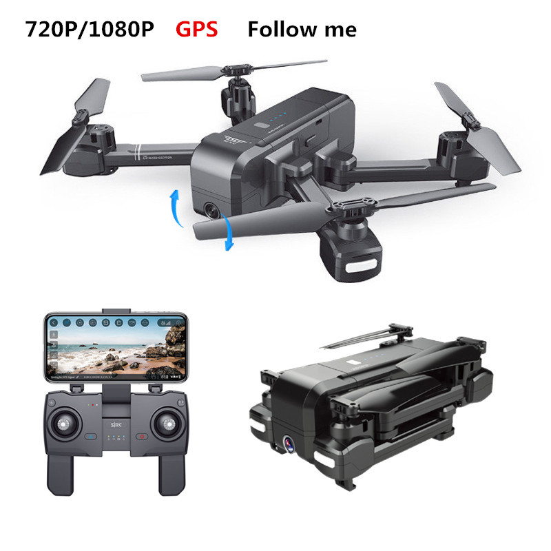 SJRC Z5 RC Drone GPS Eelfie Quadcopter With WIFI FPV 720P/1080P Camera Folded Helicopter Adjustable Camera Dron VS XS812 B5W X16SJRC Z5 RC Drone GPS Eelfie Quadcopter With WIFI FPV 720P/1080P Camera Folded Helicopter Adjustable Camera Dron VS XS812 B5W X16