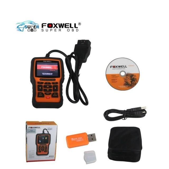 Original Diagnostic Tool OBD2 Foxwell NT510 Full System Automotive Diagnostic Tool For Land Rover/Jaguar (Update Online)