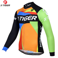 X Tiger Brand 2017 Long Sleeve Ropa Ciclismo Cycling Jerseys Autumn Mountain Bicycle Clothing Racing Bike