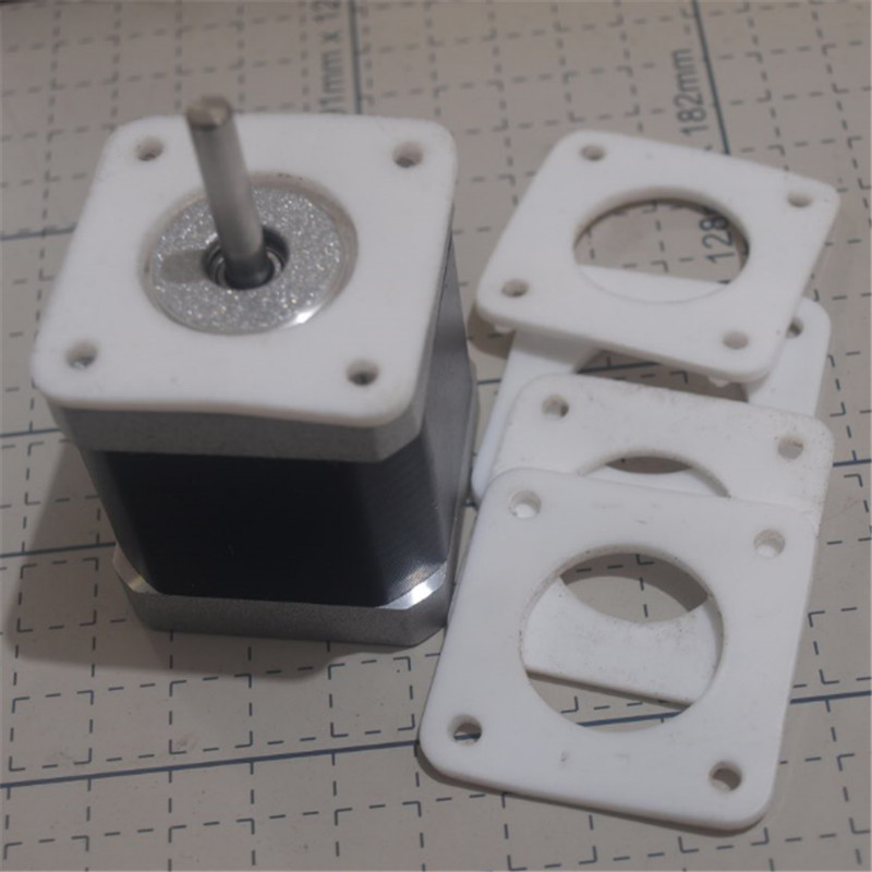Orderly Fast Ship!5pcs*nema 17/nema 23 Stepper Motor Anti Vibration Ptfe Damper Vibration Damper Shock Absorber For Cnc 3d Printers Professional Design 3d Printers & 3d Scanners