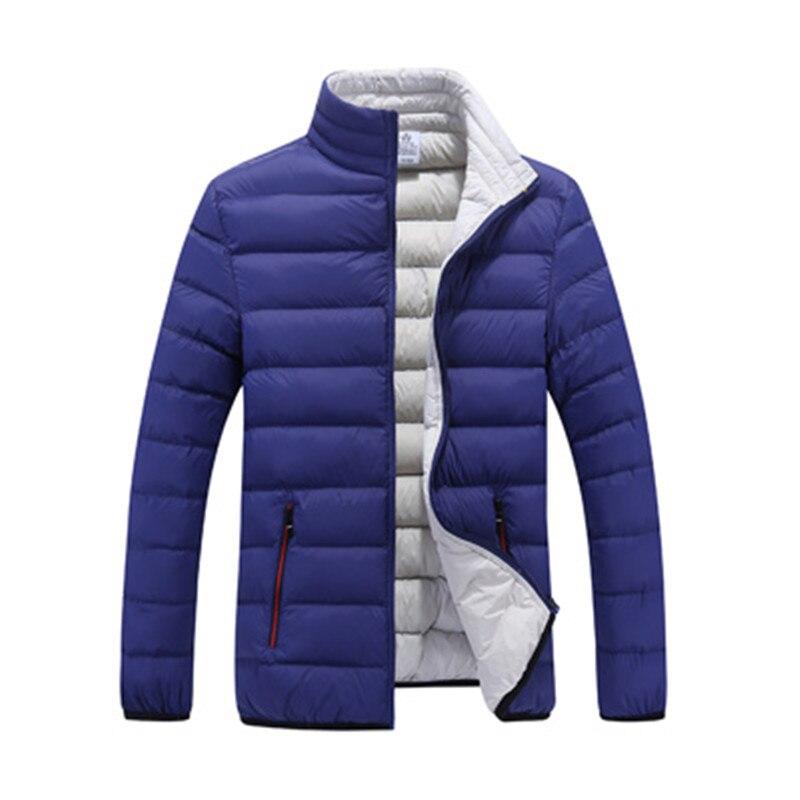 Winter Parka Mannen 2018 New Fashion Casual Loose Warme Heren Jas Sportkleding Bomber Jas En Jassen Man Winter Downjacket