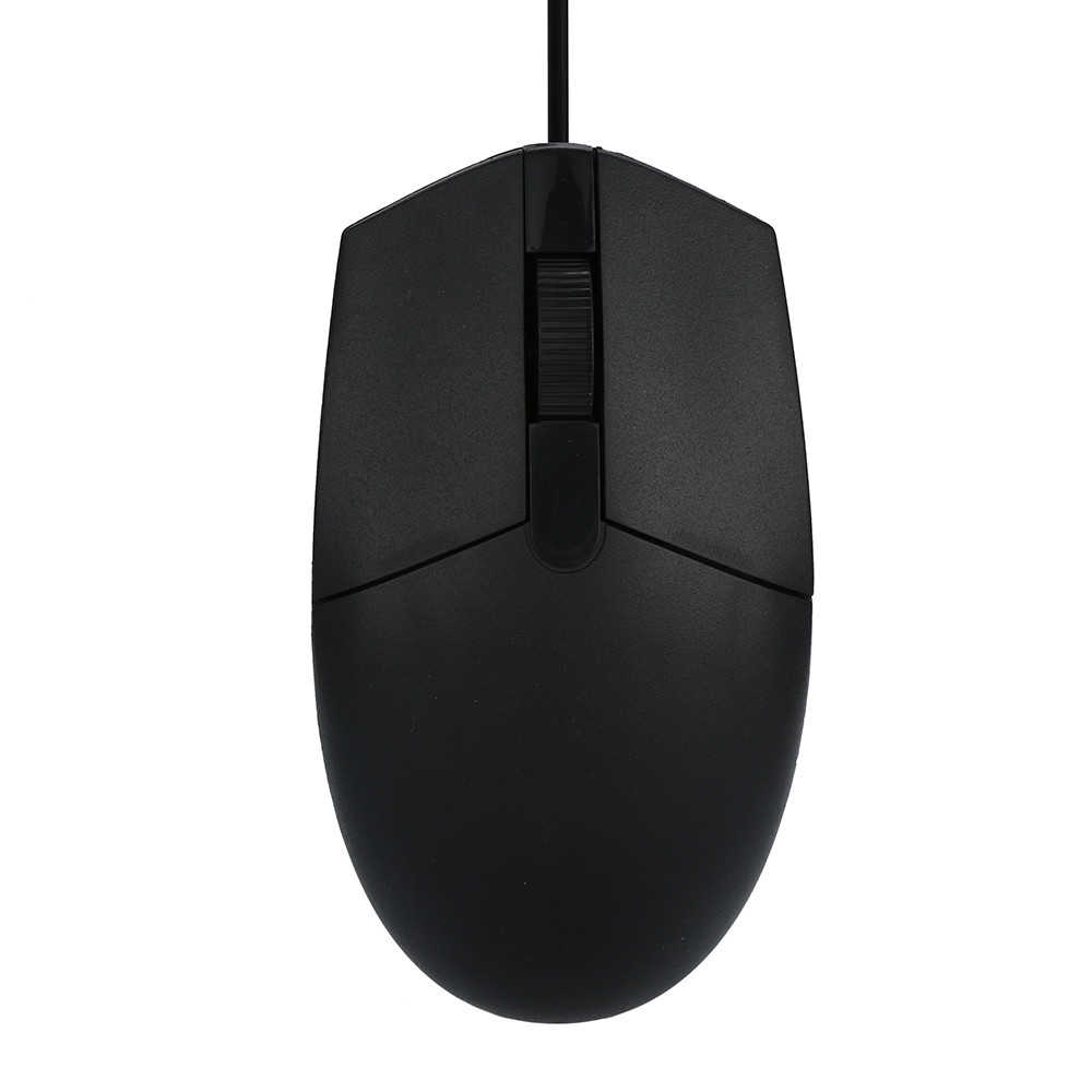 mousnx 1200 DPI USB Wired mouse Black Business Office Ergonomic design wired mouse gamer Mice For PC Laptop Mac 0316