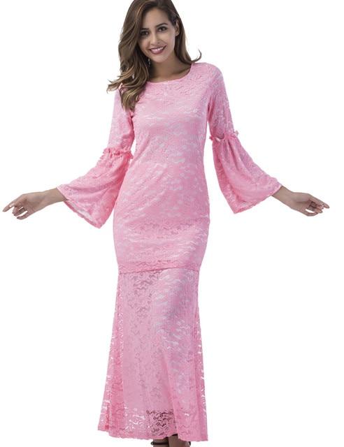 Fashion Brand Lace lace dress women top with skirt 2 pieces khaki B8012 2