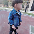 Fashion Denim baby Boy clothes Children outerwear coat fashion kids jackets for Boy girls jacket Spring Autumn children clothing