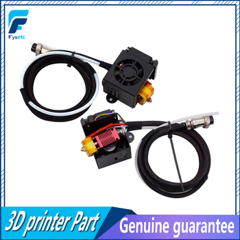 1 Set Full Assembled Extruder Kits With 2PCS Fans Fan Cover Air Connections Nozzle Kits For CR-10 Series 3D Printer Parts