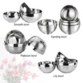 Thickening Breaking-Proof Easy To Wash Double Layer Stainless Steel Rice Bowl Heat Insulation And Anti Scald Bowl for children