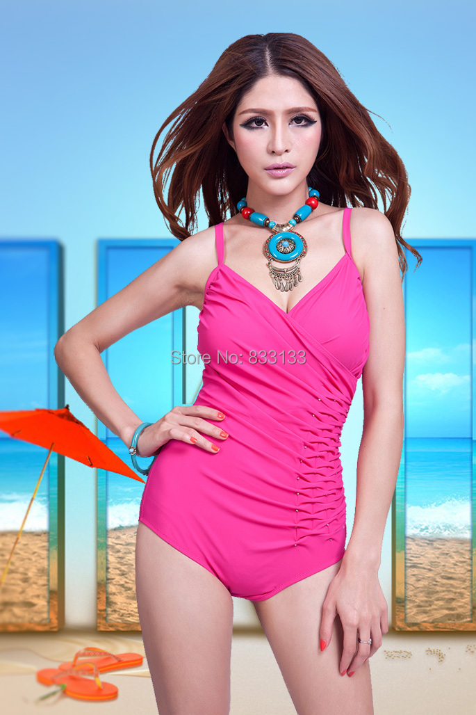 Free Shipping Lady Bathing Suit Triangle,Very Large Size Bra Cup Swimwear,Womangirl -6030