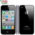 Оригинальный Разблокирована iPhone 4S Мобильного Телефона 16 ГБ 32 ГБ 64 ГБ ROM Dual core WCDMA WIFI GPS 8MP Камерой Мобильного телефон