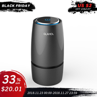 GIAHOL Intelliget Anion Car Air Purifier USB Portable Cup Air freshener with filter Aroma Diffuser for car home Remove Bacteria
