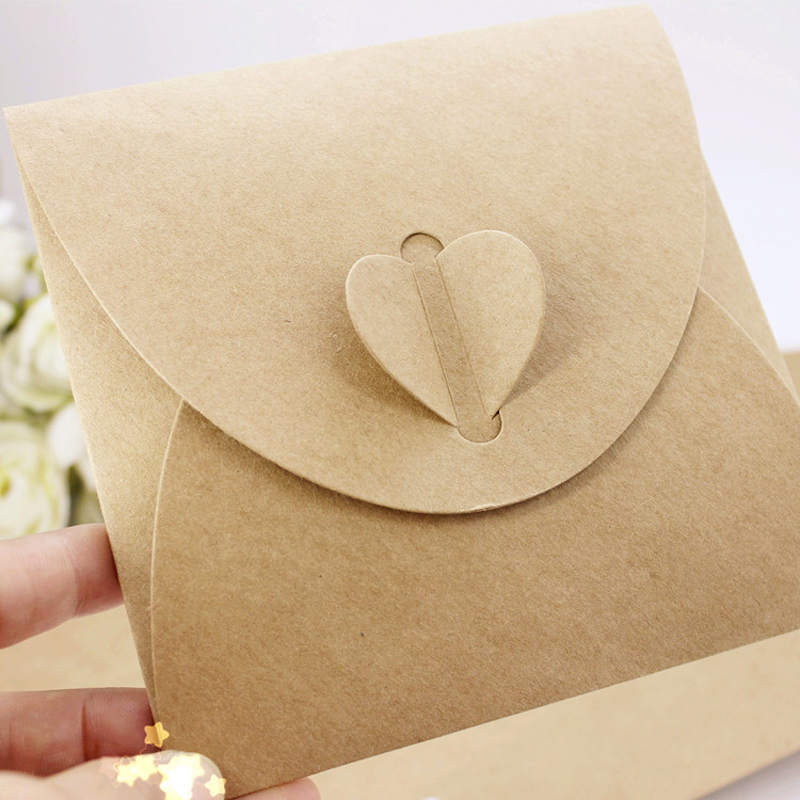 Super Deal Cacb4 Imported 260g Kraft Paper Cd Envelope Bag