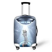 Elastischer starker Gepäck-Abdeckungs-Stern-Katze-Stamm-Fall wenden Sie auf 18-30 Zoll Koffer-Koffer-schützende Abdeckungs-Reisezusätze an