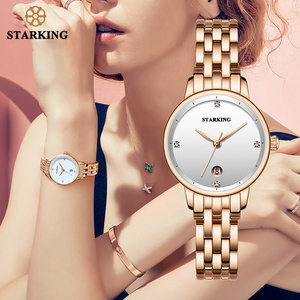 Image 1 - STARKING Luxury Fashion Women Watches Stainless Steel Relojes Mujer Dress Lady Watch Quarts Wrist Watches 2019 NEW
