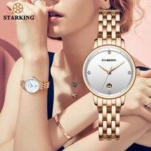 STARKING 高級ファッション女性腕時計ステンレススチール Relojes Mujer ドレス女性の腕時計クォーツ腕時計 2019 新